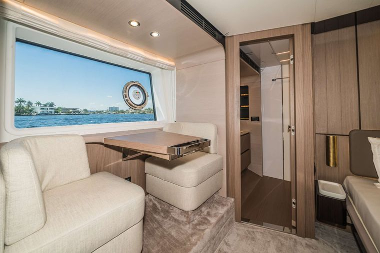 ALMOST DONE Yacht Charter - Master Stateroom Lounge