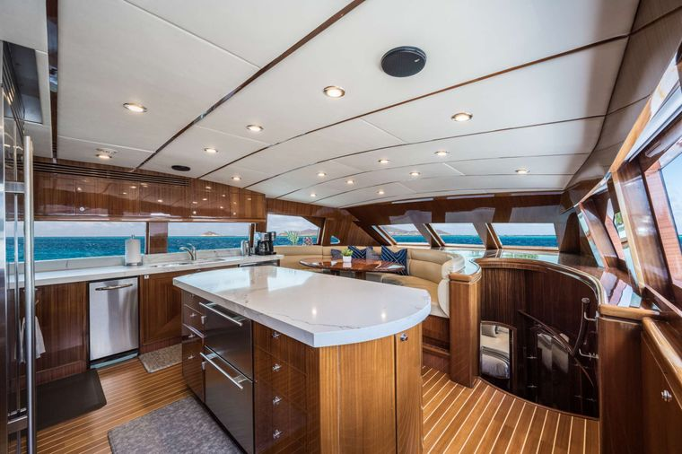 LIMITLESS Yacht Charter - Galley