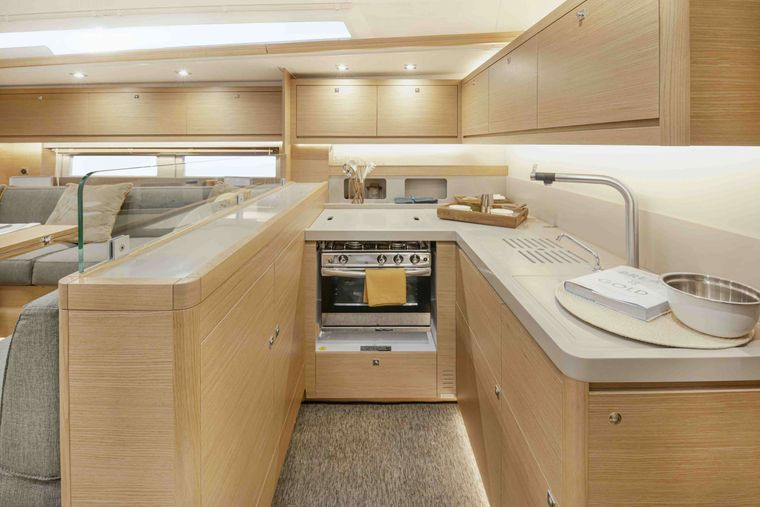 DIMPA Yacht Charter - FACTORY GALLEY