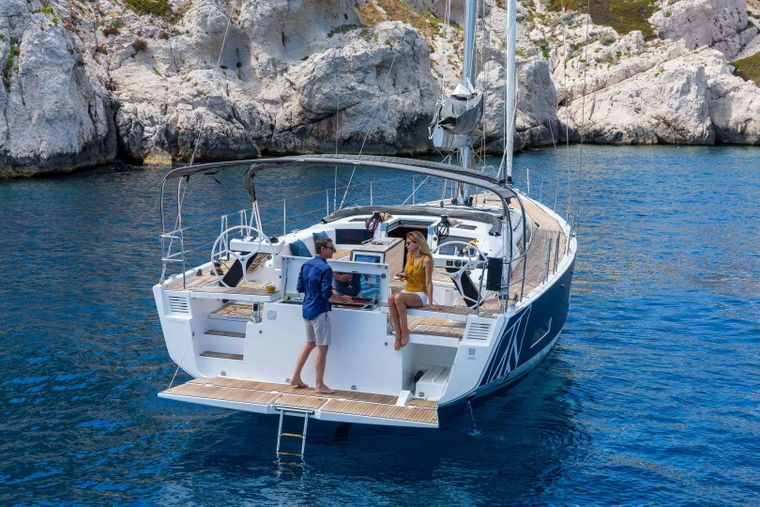 DIMPA Yacht Charter - FACTORY AFT VIEW