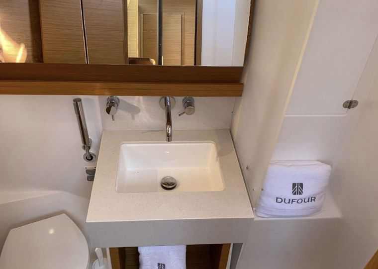 DIMPA Yacht Charter - FACTORY GUEST BATHROOM