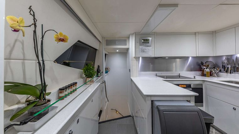 EMRYS Yacht Charter - Galley