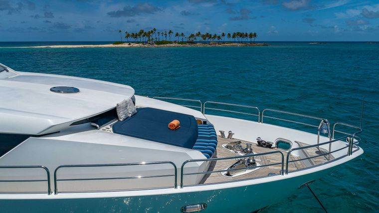 EMRYS Yacht Charter - Bow Seating