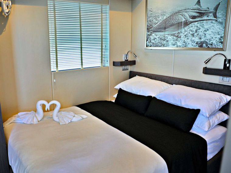 OVER REEF Yacht Charter - VIP Cabin