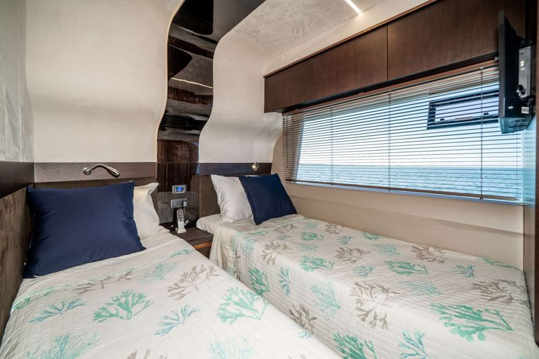 RECORD YEAR Yacht Charter - Port Twin Stateroom
