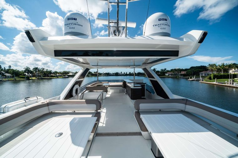 RECORD YEAR Yacht Charter - Flybridge