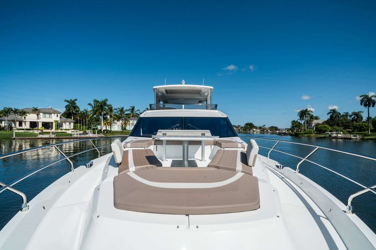 RECORD YEAR Yacht Charter - Foredeck