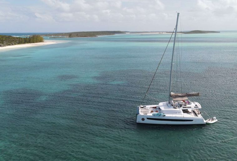 Synergy Yacht Charter - Comfortable hard deck throughout
