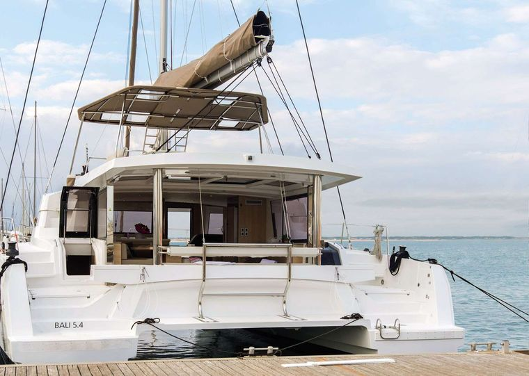 Synergy Yacht Charter - Docked