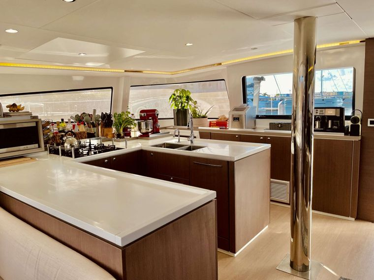 Synergy Yacht Charter - Chefs Kitchen