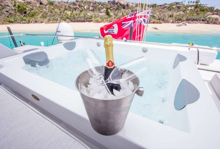 ORION Yacht Charter - Jacuzzi