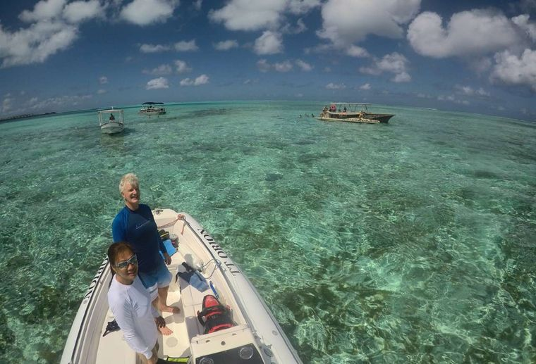 ORION Yacht Charter - Crystal clear waters