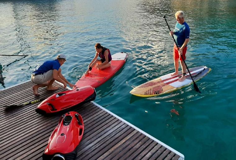 ORION Yacht Charter - Water toys