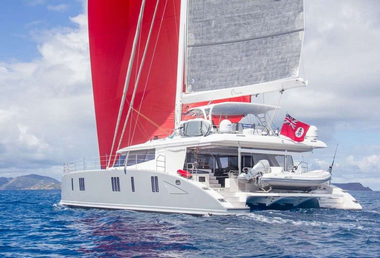 ORION Yacht Charter - Orion sailing