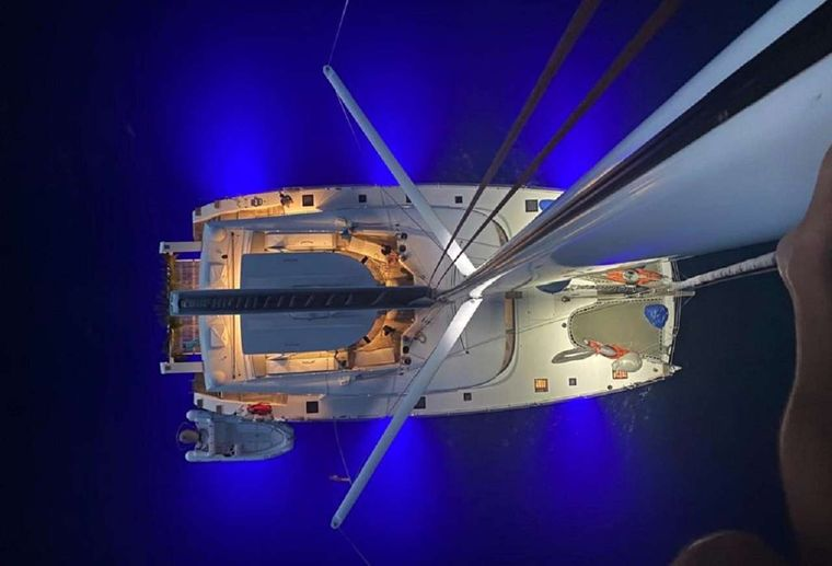 ORION Yacht Charter - Aerian view
