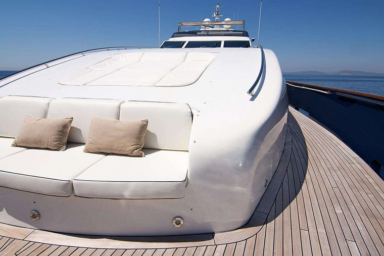 CONDOR A Yacht Charter - Fore Deck