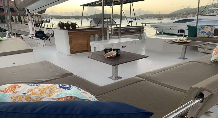 TRUE STORY Yacht Charter - Galley