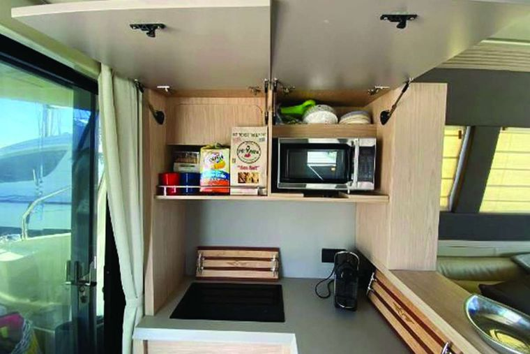 Blue Yacht Charter - Galley