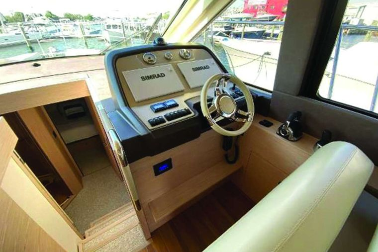 Blue Yacht Charter - Helm Station