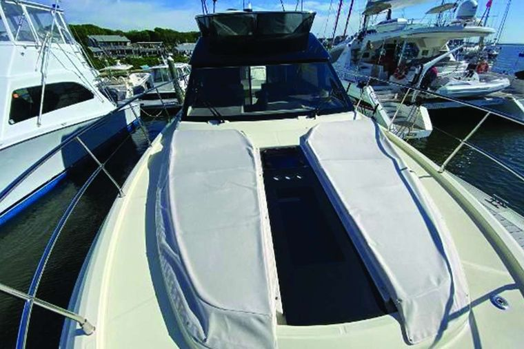 Blue Yacht Charter - Bow