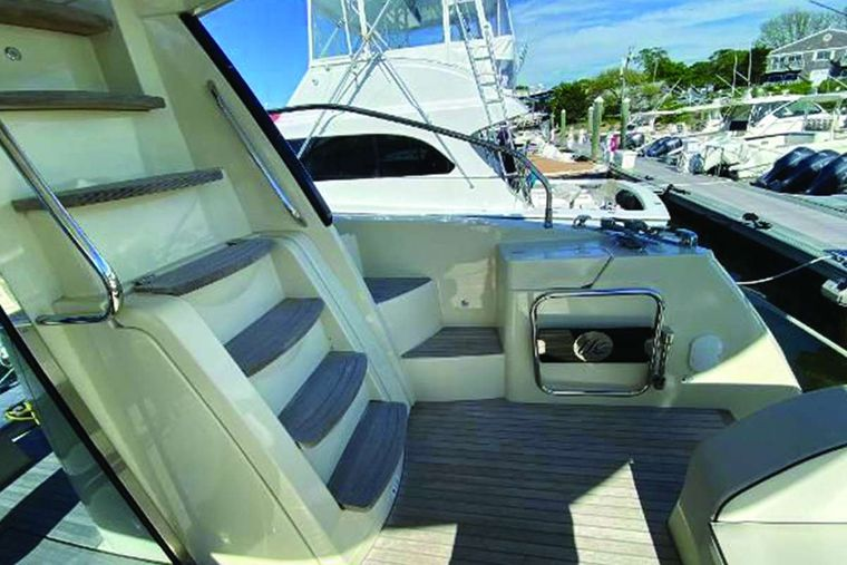 Blue Yacht Charter - Aft Stairwell