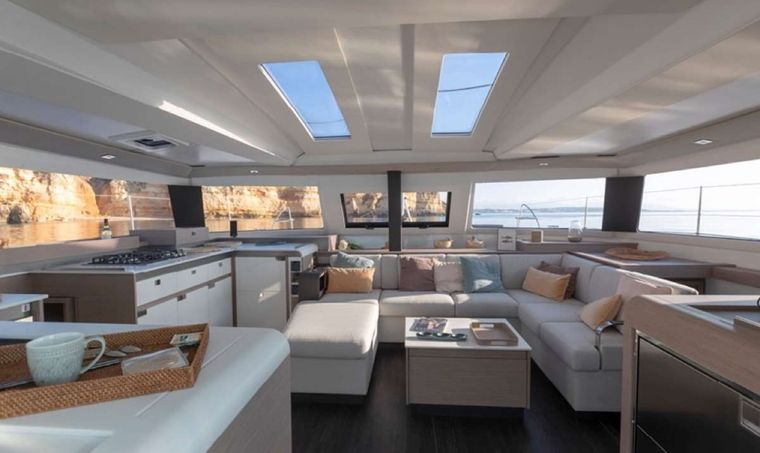 Game Changer Yacht Charter - Salon