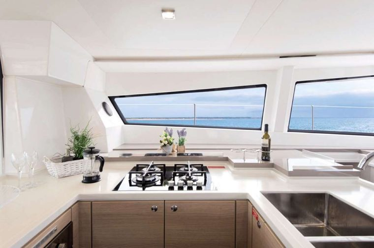 Crystal Dreams Yacht Charter - Galley
