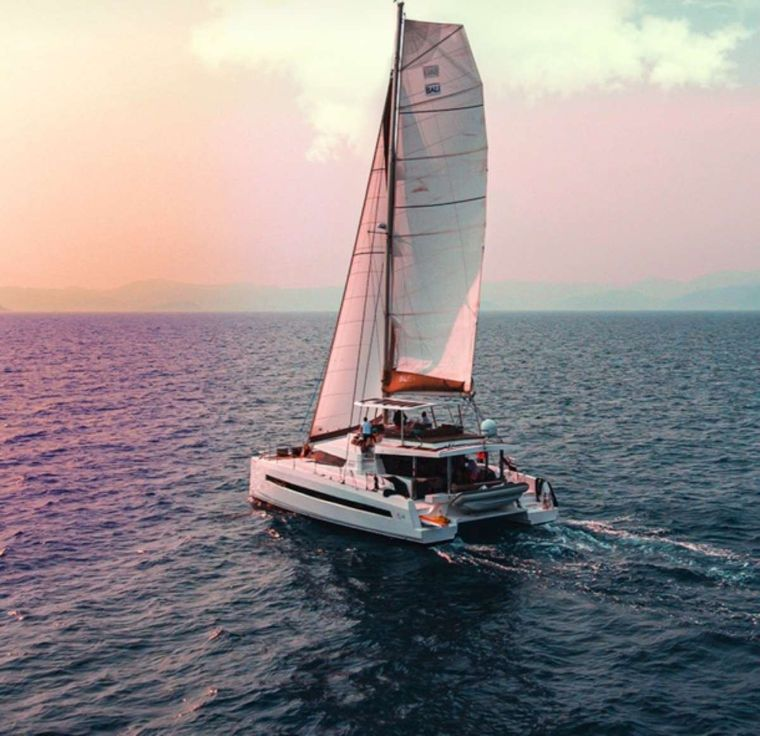 Crystal Dreams Yacht Charter - Rear view