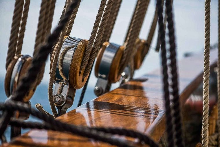 ARKTOS Yacht Charter - Ropes Details
