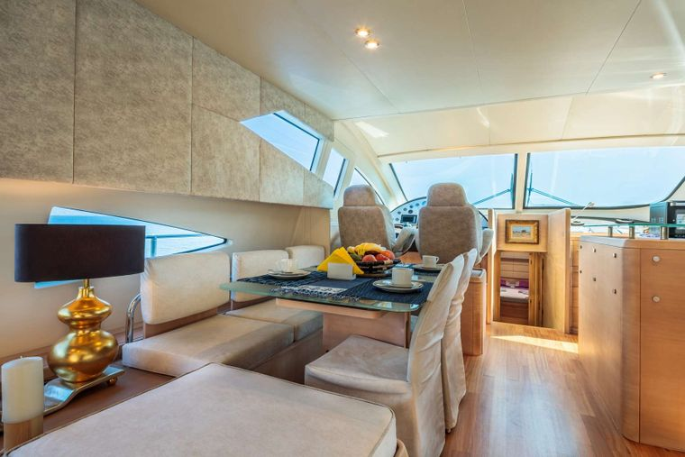 REVIVAL Yacht Charter - Dining