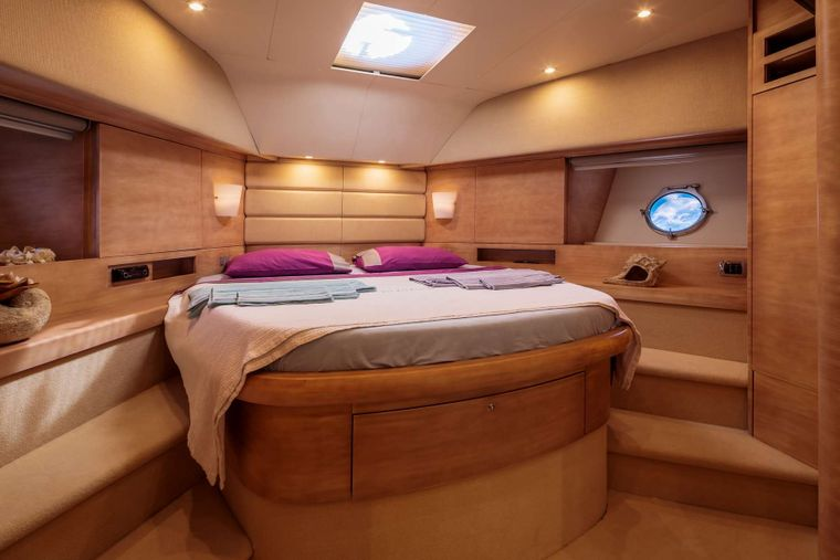 REVIVAL Yacht Charter - VIP Cabin