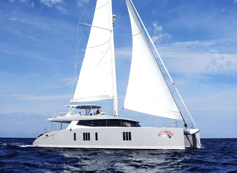 19TH HOLE Yacht Charter - Ritzy Charters