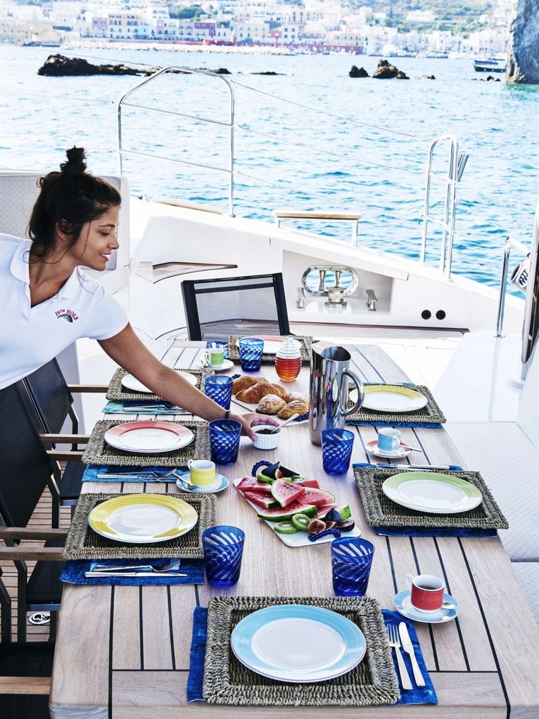 19TH HOLE Yacht Charter - Aft deck