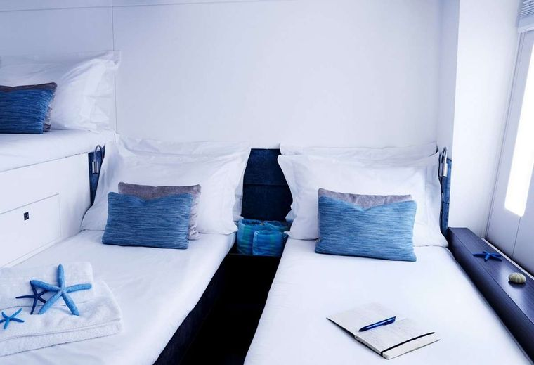 19TH HOLE Yacht Charter - Guest cabin