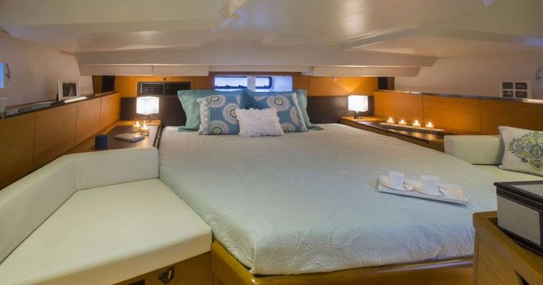 Sea Wolf Yacht Charter - Guest Cabin