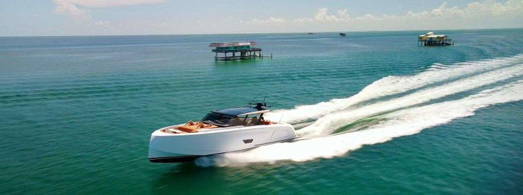 58 Vanquish Yacht Charter - Ritzy Charters