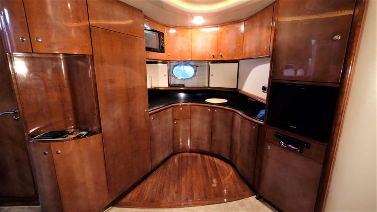ORION Yacht Charter - Galley
