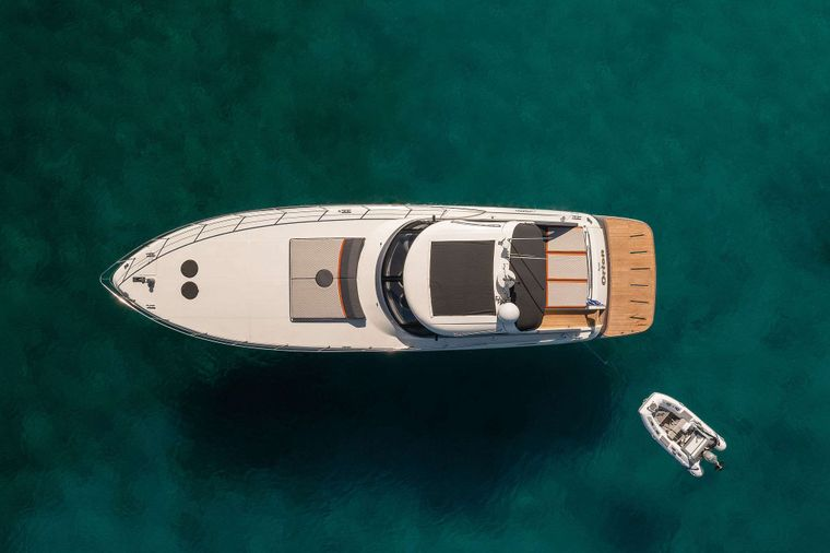 ORION Yacht Charter - Front view