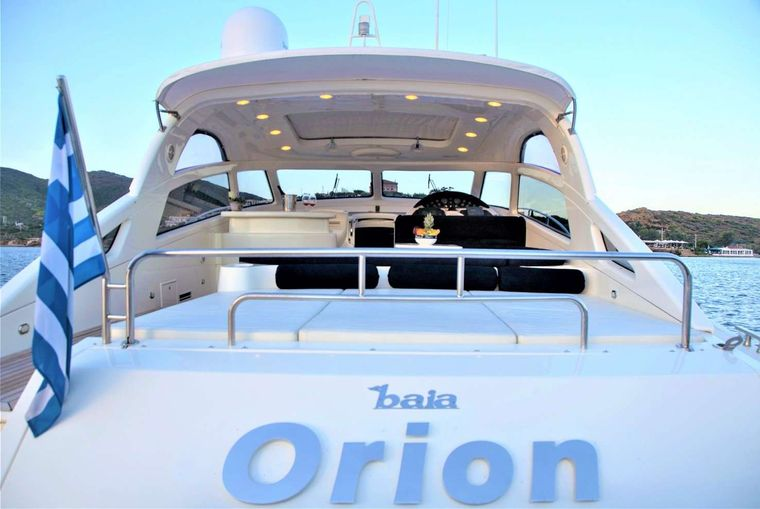 ORION Yacht Charter - Back view