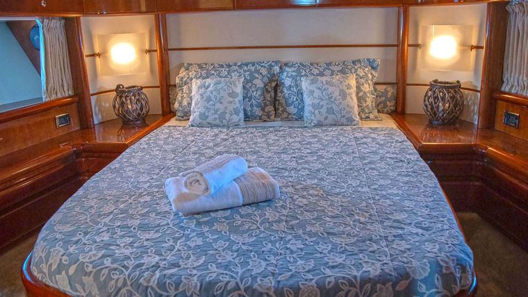 ORION Yacht Charter - Master Cabin