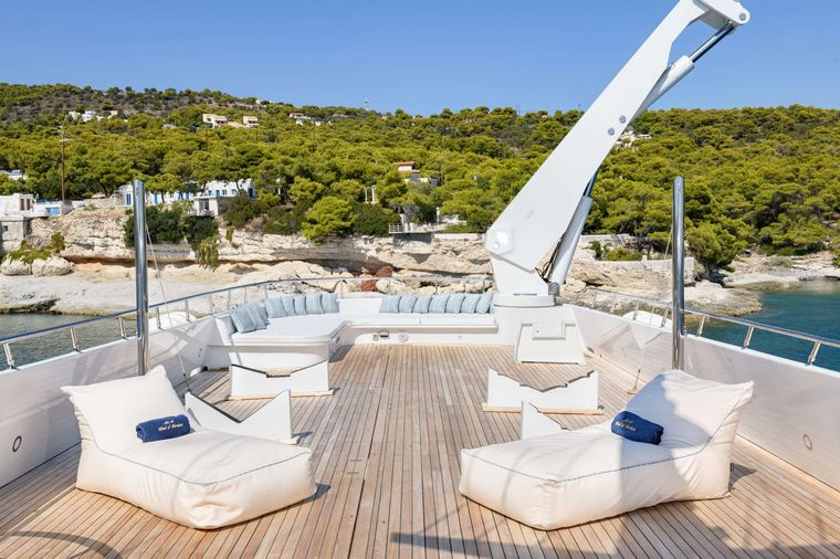 WIND OF FORTUNE Yacht Charter - Sun Deck