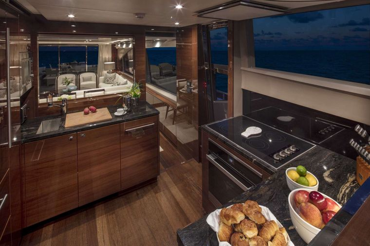 HOT PURSUIT Yacht Charter - Galley
