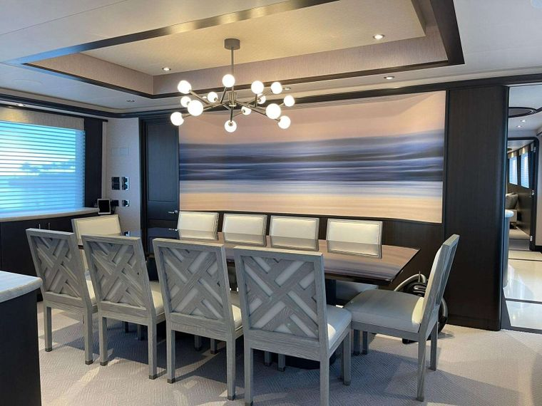 NO BAD IDEAS Yacht Charter - Formal Dining