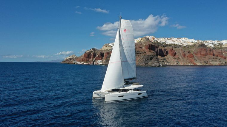 PAROS Yacht Charter - Ritzy Charters