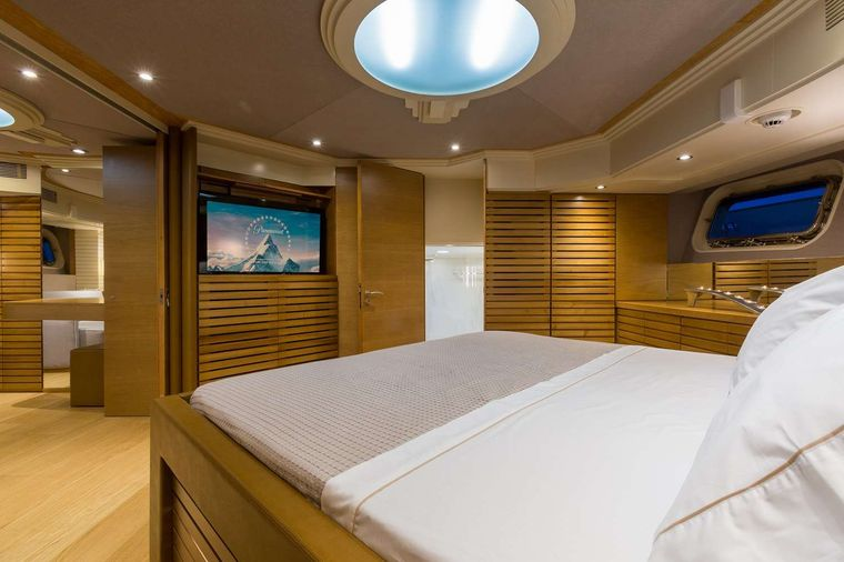AQUARELLA Yacht Charter - Master cabin other view