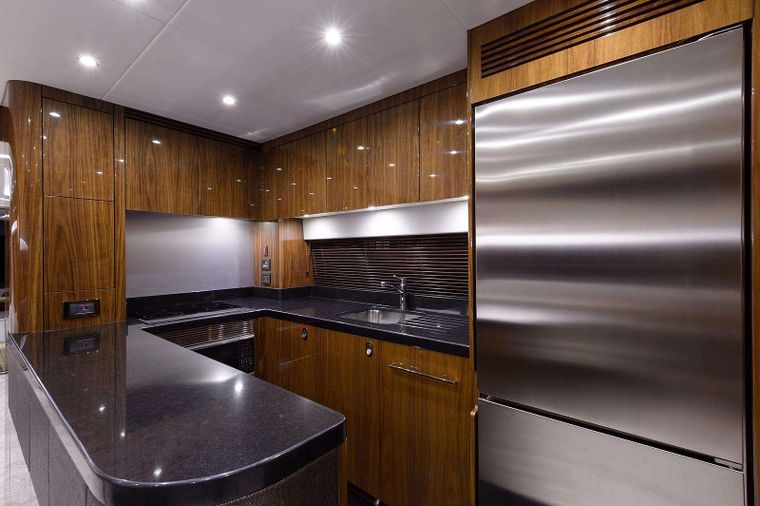 GOLDEN OURS Yacht Charter - Galley