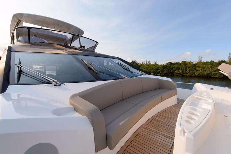GOLDEN OURS Yacht Charter - Bow Seating