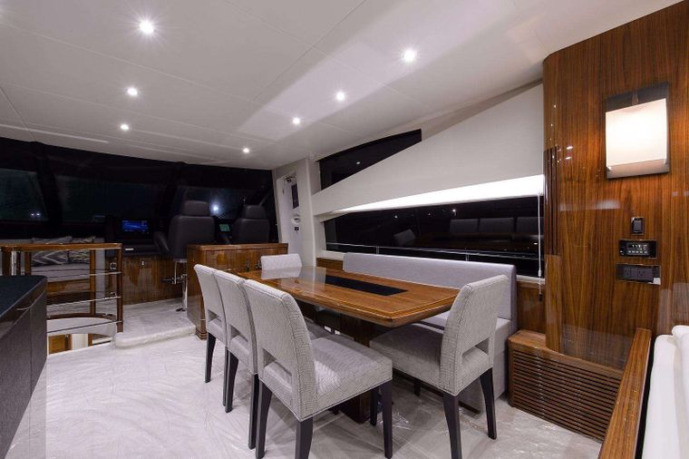 GOLDEN OURS Yacht Charter - Dining
