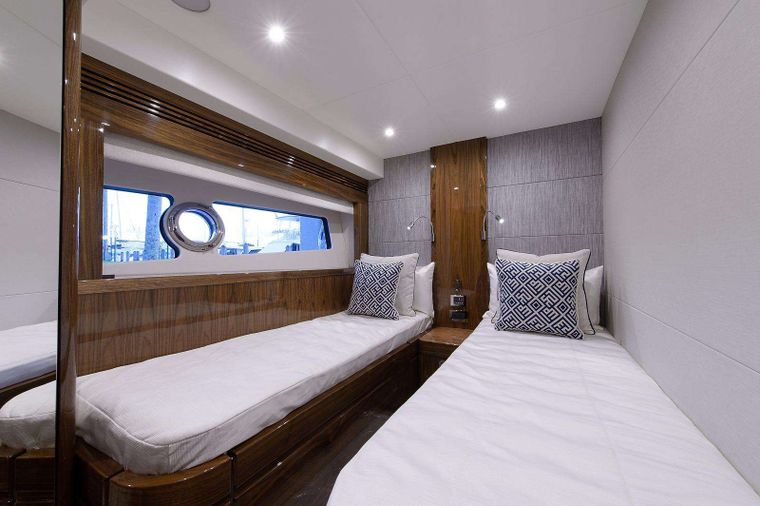 GOLDEN OURS Yacht Charter - Port Guest Stateroom