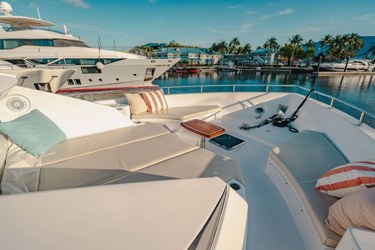 BELLA SKY Yacht Charter - Bow Seating